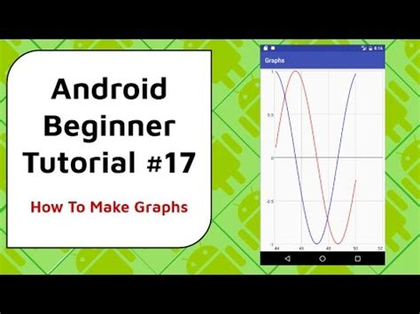 android studio tutorial for beginners youtube android beginner tutorial 17 android beginner graphing