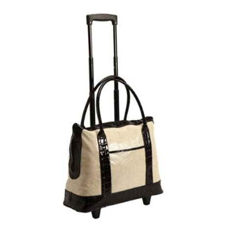 tote bag on wheels tote and go