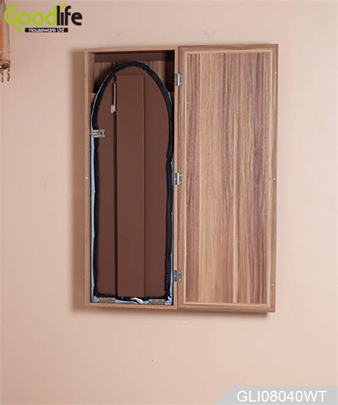 Mirror Ironing Board Closet by Home Ironing Center Furniture Wall Mounted Mirrored
