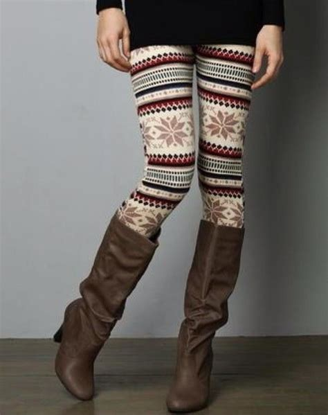 patterned tights boots leggings fall outfits winter outfits pattern patterned