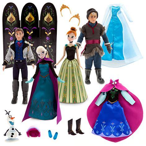 Set Gamis Frozen Elsa No 1 1 2thn image frozen deluxe doll set jpg disney wiki