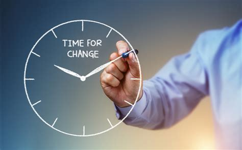 Of Time And Change changing the time and time for a change