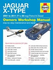 jaguar x type petrol amp diesel 01 11 y to 60 manual