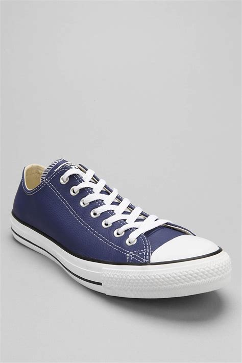 Blue Converse all converse blue leather www imgkid the