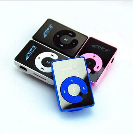 aliexpress mp3 player aliexpress com buy mp3 player with clip mirror surface