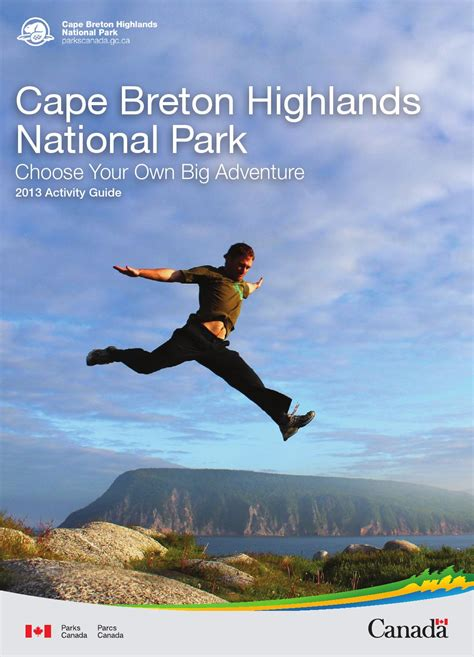 Cape Breton Mba Fees by Cape Breton Highlands National Park 2013 Activity Guide
