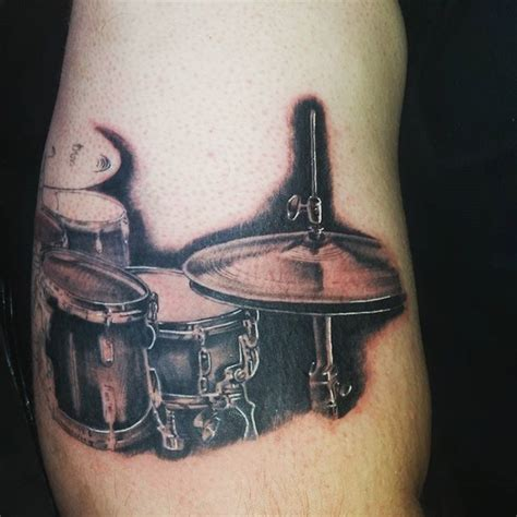 tattoo drum kit 101 genius music tattoos that you ll want to get for yourself