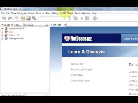 tutorial on netbeans jsf javaserver faces tutorial 1 setup and first project