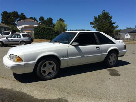 car manuals free online 1991 ford mustang user handbook 1991 ford foxbody mustang lx hatchback 2 door 5 0l original white manual for sale in crescent
