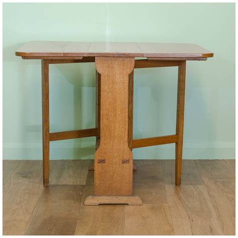 oak drop leaf table arthur w arts and crafts oak drop leaf table