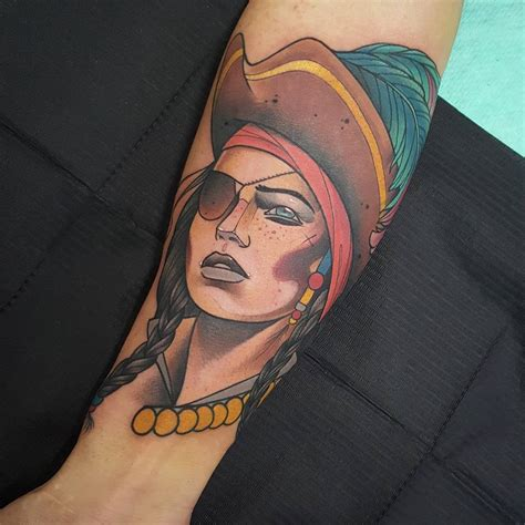 pirate girl tattoo 75 amazing masterful pirate tattoos designs meanings