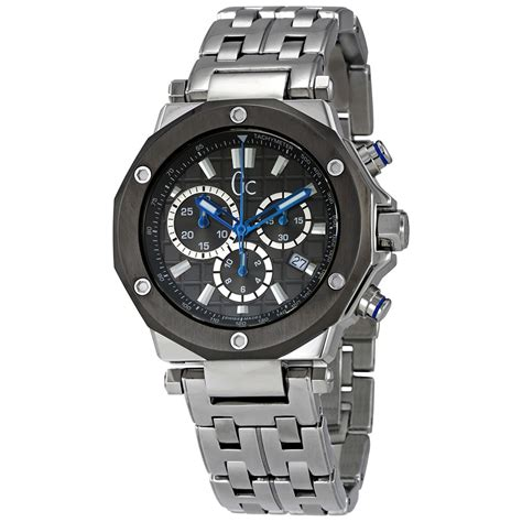 Guess Gc Chronograph 6617 Leatherblw guess gc 3 grey s chronograph x72009g5s guess watches jomashop