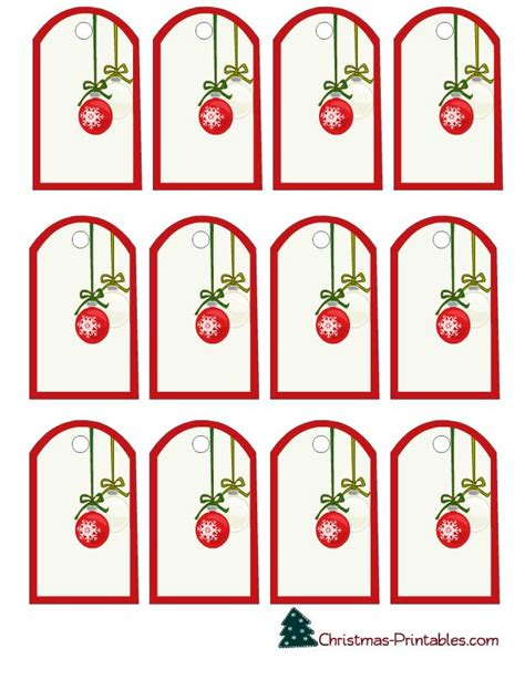printable christmas ornament tags 349 best gift tags printable images on pinterest xmas