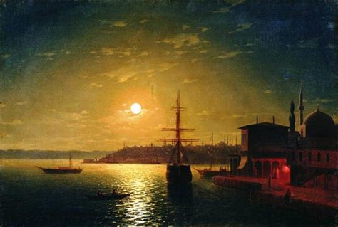 by the ninth wave ivan aivazovsky the bay golden horn 1845 ivan aivazovsky wikiart org