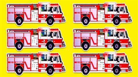 camion pompieri bambini cartoni animati completi  min