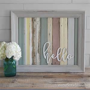 reclaimed home decor more reclaimed wood signs start at home decor