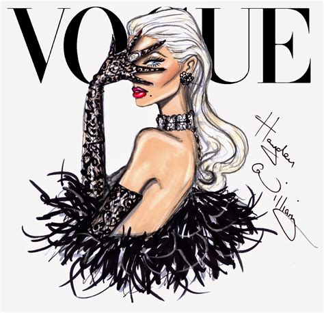 fashion illustration vogue covers hayden williams fashion illustrations january 2014