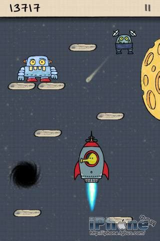 doodle jump free for iphone 3g doodle jump涂鸦跳跃 v2 5 最新更新 iphone中文网
