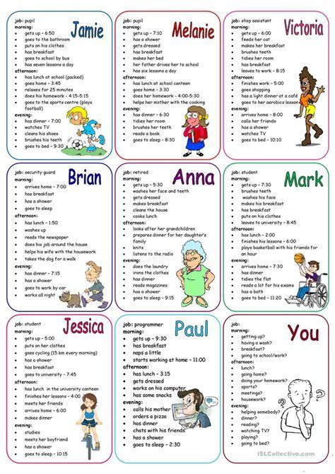 Speaking Worksheets
