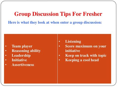 ppt templates for group discussion group discussion ppt