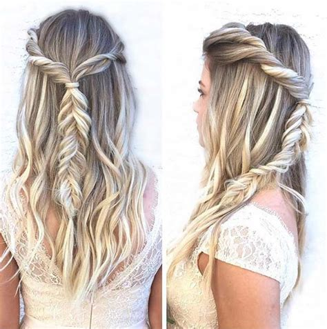 updo hairstyles half up half down 31 half up half down prom hairstyles stayglam