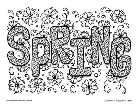 free printable coloring pages for adults spring spring coloring pages for adults color bros