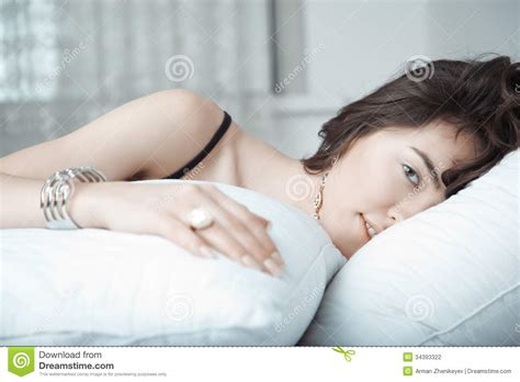 lay on the bed jewelry stock photography image 34393322