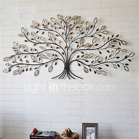 wire tree wall hanging home decor e home 174 metal wall art wall decor tree pattern wall decor