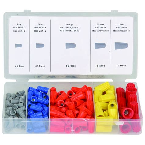 158 pc wire connector assortment