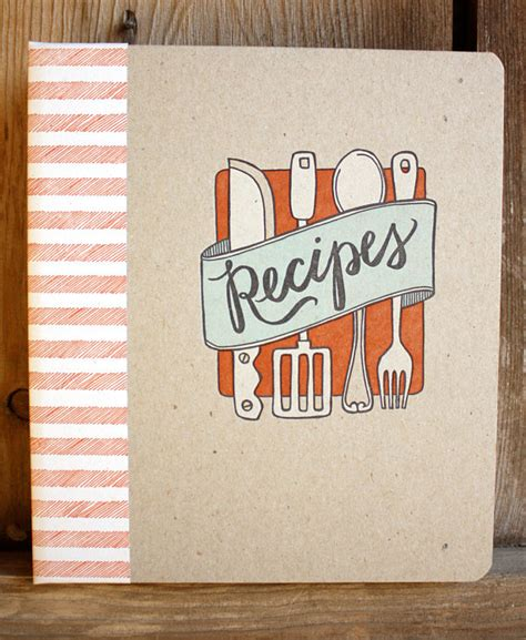pictures of recipe books items similar to discontinued letterpress recipe book on