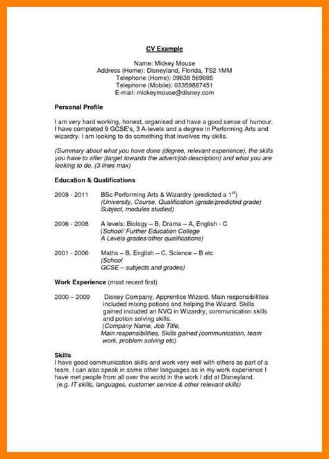 care assistant cv template job description cv example