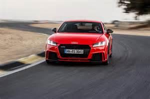Audi Tt Alternatives 2017 Audi Tt Rs Drive Review Motor Trend