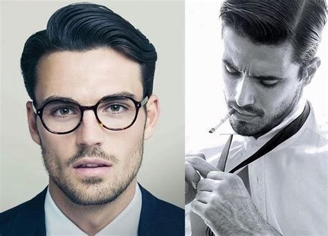 how to style men hair with fliped up bangs classy side part professional cut for men latest hair