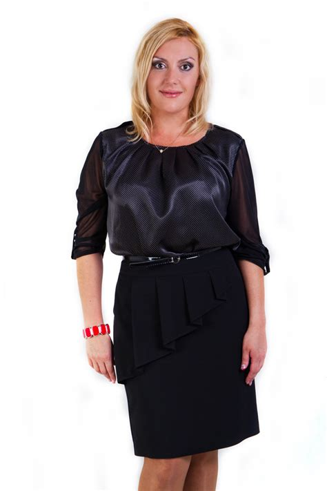 More Satin Looks by Plus Size Satin Blouses Black Dressy Blouses