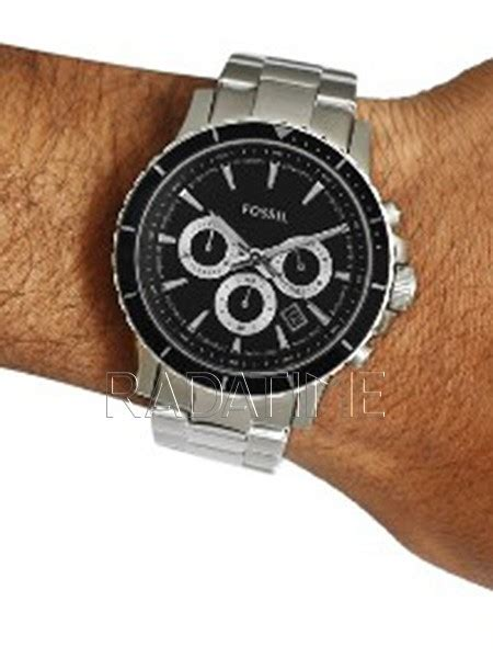 Jam Tangan Pasangan Fossil Sk700 Leather Black Silver fossil ch2926i