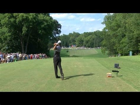 konica minolta swing vision tiger woods slo mo swing is analyzed at wyndham youtube