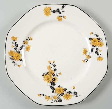 yellow rose pattern dishes homer laughlin golden rose yellow floral at