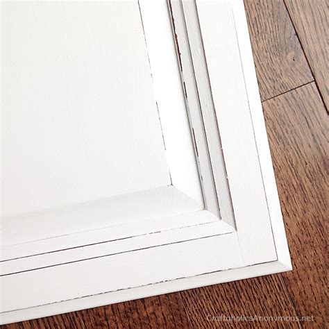 distressed white kitchen cabinet doors craftaholics anonymous 174 how to paint kitchen cabinets