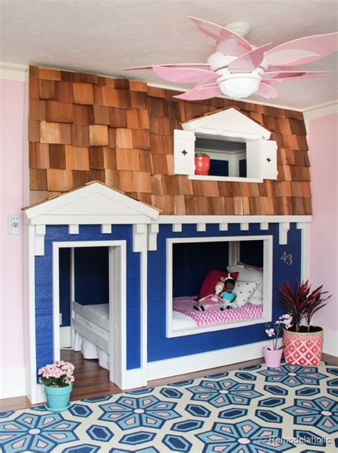 how to build bunk beds remodelaholic how to build a princess castle loft bed