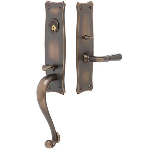 exterior door lock set templeton traditional lever exterior door set rejuvenation
