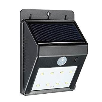 Wireless Security Lights by Bright 8 Led Solar Powered Wireless Security Light