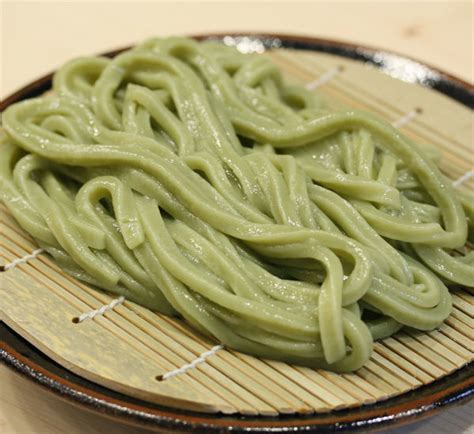 Handmade Noodle Recipe - handmade matcha udon noodles recipe japan centre