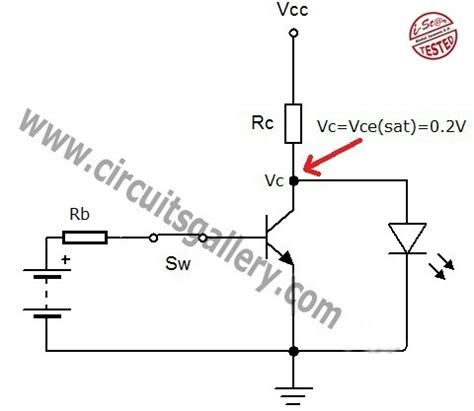 transistor switch circuit transistor act as a switch working and transistor switching circuit circuits gallery