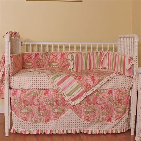 Paisley Crib Bedding Set by Paisley Crib Bedding Set By Hoohobbers Rosenberryrooms