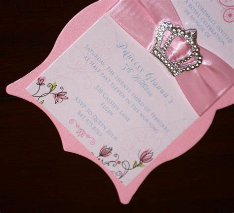 Handmade Birthday Invitations - handmade princess invitations related keywords handmade