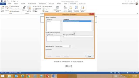 Creating A Macro Enabled Template In Word Youtube Microsoft Word Macro Enabled Template
