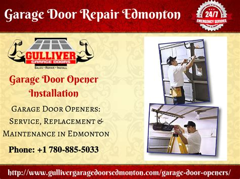 Garage Door Opener Installation Service Garage Door Repair Opener Installation Tips Gulliver Garage Door Authorstream