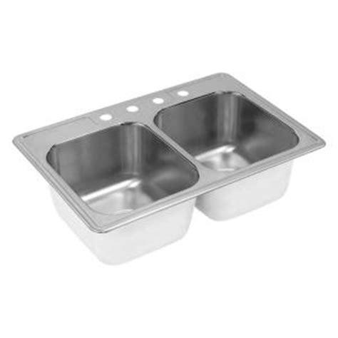 elkay neptune drop in stainless steel 33 in 4