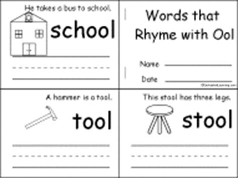 words that rhyme with bed letter o alphabet activities at enchantedlearning com