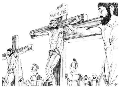 Miss Becky S Bible Blog September 2013 Jesus On The Cross Drawings
